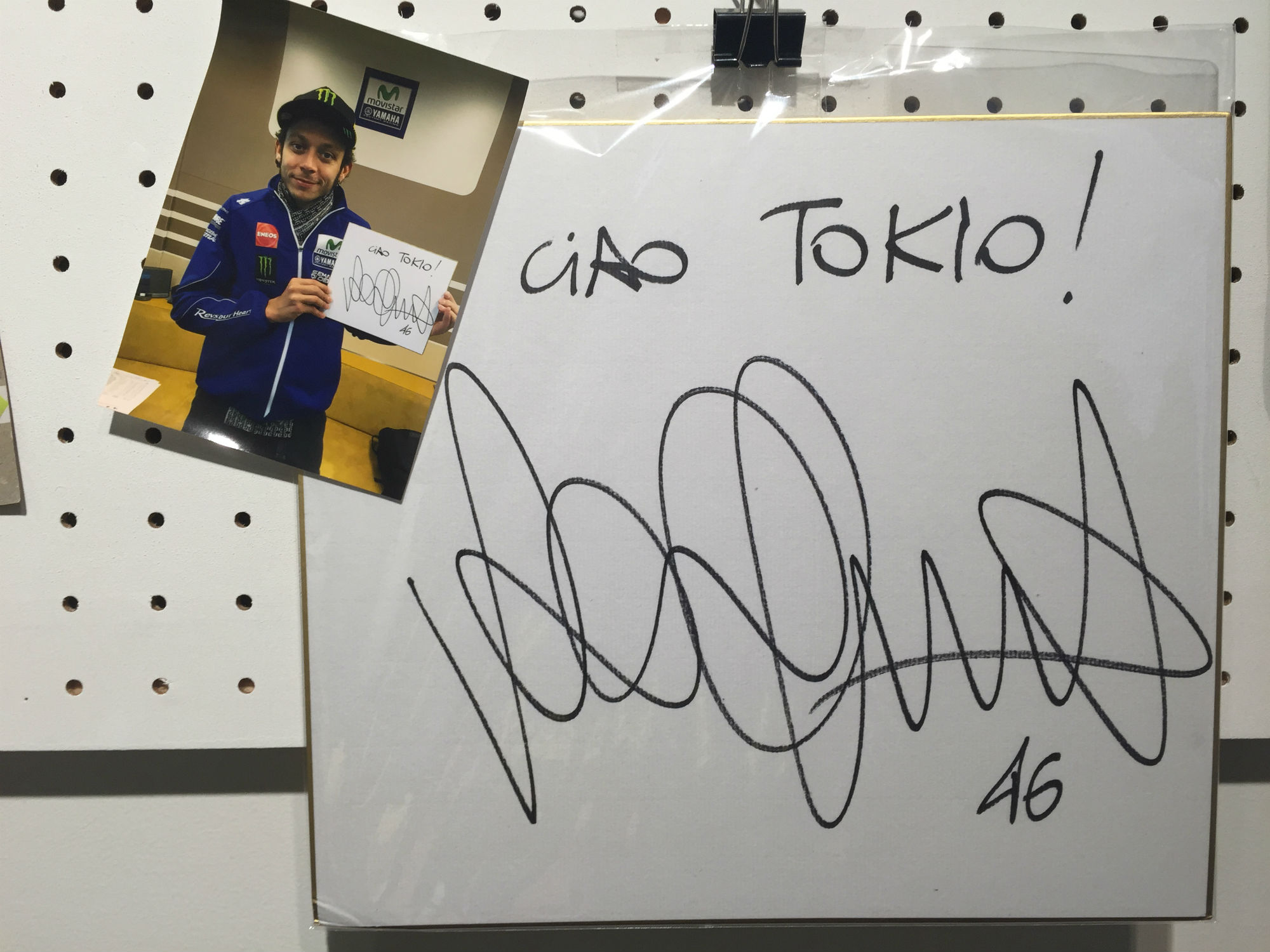 VR46 Store Tokyo室内2