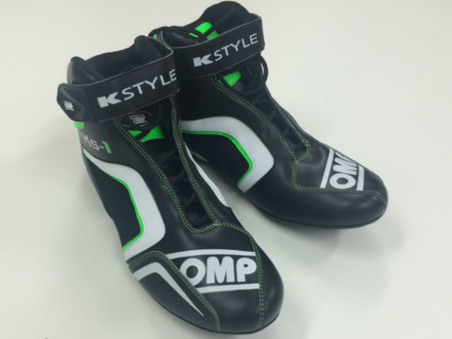 OMP Kartshoes KS-1 BlackGreen