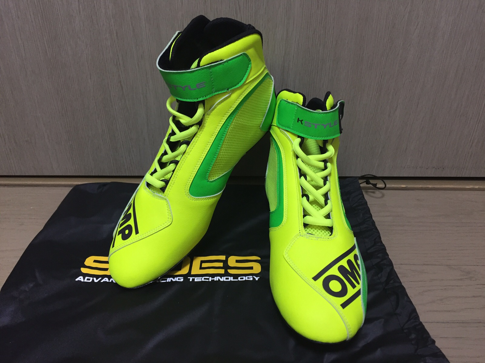 OMP Kartshoes KS-1 YellowGreen